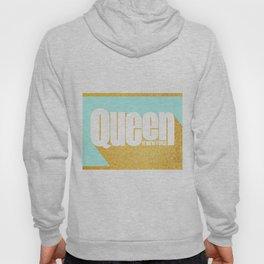 Queen of New York (Mint & Gold) Hoody
