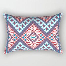 Slavik Cross stitch pattern Rectangular Pillow