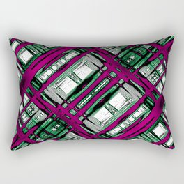 Strange Abstract Synapses Rectangular Pillow
