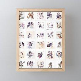 Collection Portrait ~ Los Caprichos Framed Mini Art Print