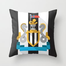 NUFC Throw Pillow