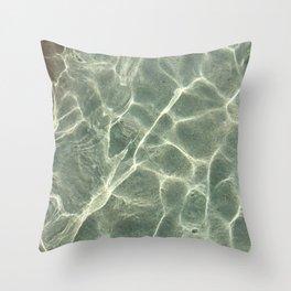 Shallow Water Throw Pillow