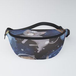 Cat Space Fanny Pack