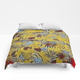 Asian Floral Comforters