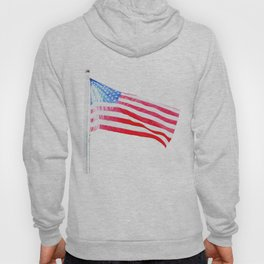 flag on white Hoody