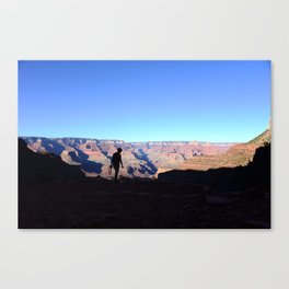 Grand Canyon Photographer Canvas Print
