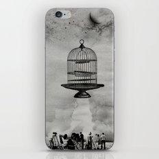 spaceship jail iPhone & iPod Skin