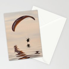 Powered paraglider Stationery Cards
