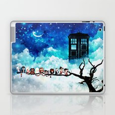 Owl Tardis Starry Night Laptop & iPad Skin