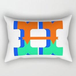 Letter H Rectangular Pillow