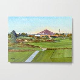 Montauk Downs State Park Golf Course New York Metal Print