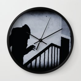 Nosferatu Classic Horror Movie Wall Clock