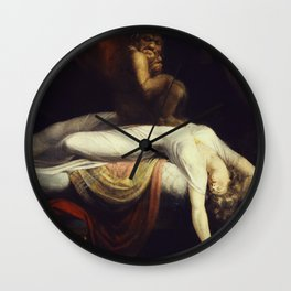 Henry Fuseli - The Nightmare Wall Clock