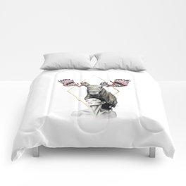 Haida Moose Comforters