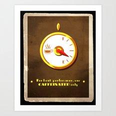 The Coffee Meter Art Print