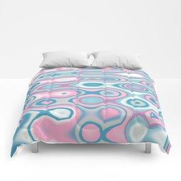 Abstract art Comforters