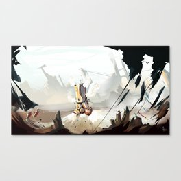 Steam Machine Canvas Print