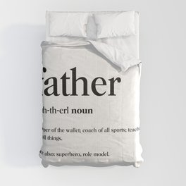 Father Definition Comforters