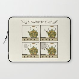 A Favorite Tune - Whistling Tea Kettle Laptop Sleeve