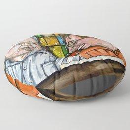 Archie & Edith Bunker  Floor Pillow