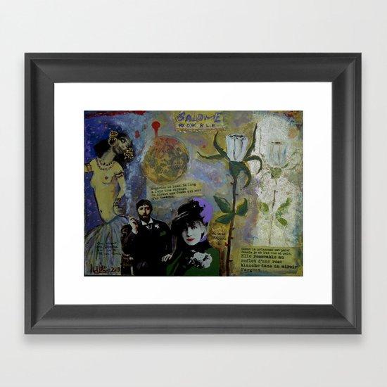 Salomé Framed Art Print
