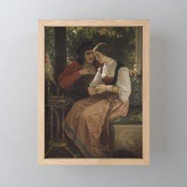 William Bouguereau - The Proposal Framed Mini Art Print