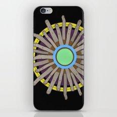 radial blame I iPhone & iPod Skin