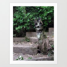 Hey There :) Art Print