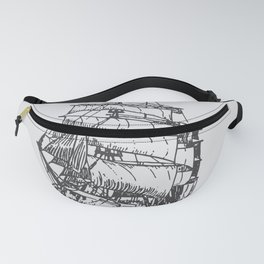 Classic Ship Fanny Pack