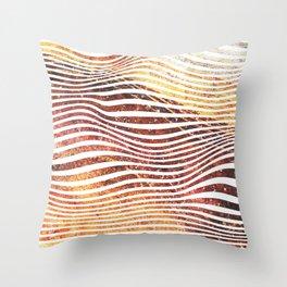Super Sedimentary Throw Pillow