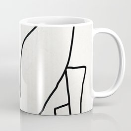 Abstract line art 2 Coffee Mug