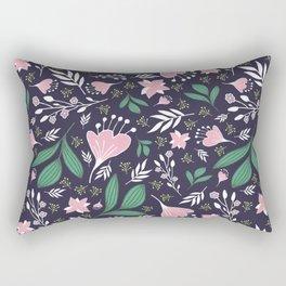 Spring Flowers Style D Rectangular Pillow