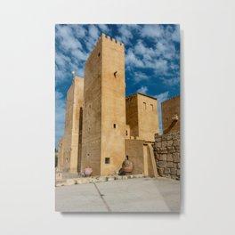 Castle in Spain Metal Print