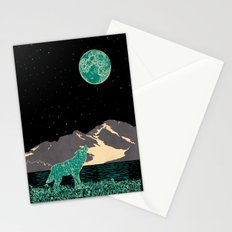 Wolf 5 Stationery Cards