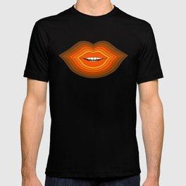 Pop Lips - Golden T-shirt