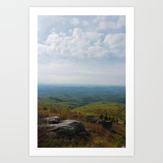 Rough Ridge Art Print