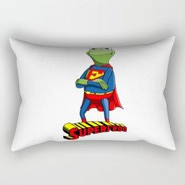 Kermit the Superman Rectangular Pillow