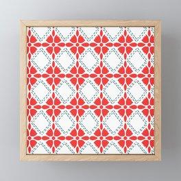 Freedom  Garden Pattern Framed Mini Art Print