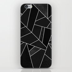 Black Stone iPhone & iPod Skin