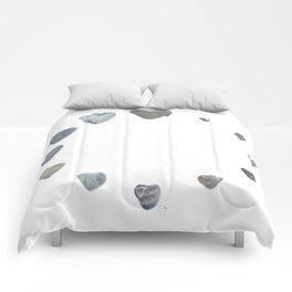 Heart rock gradation aka Rock around the clock! Comforters