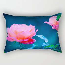 Flowers of early spring Rectangular Pillow