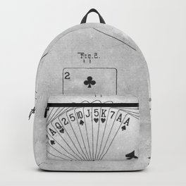 Playing cards Backpack