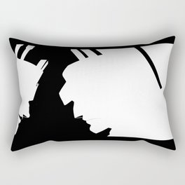 A haunting reminder Rectangular Pillow