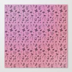 Spoopy Pattern Canvas Print