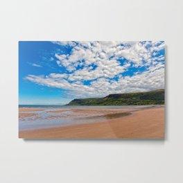 Waterfoot Beach Metal Print
