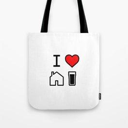 I Heart Homebrew Tote Bag