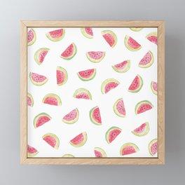 Watermelon slices Framed Mini Art Print