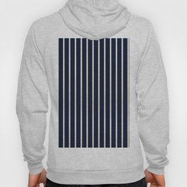 Navy stripe Hoody