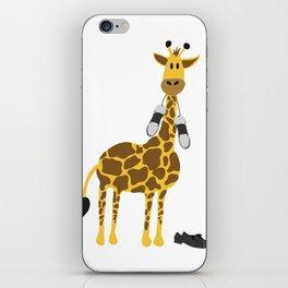 Tappy the giraffe iPhone Skin