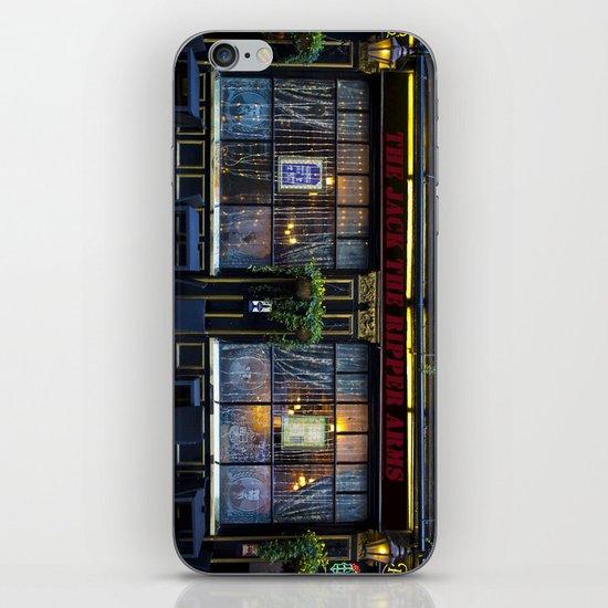 The Jack the Ripper Pub  iPhone & iPod Skin